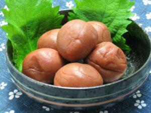 日本独自の食品「梅干し」